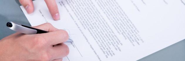 Rodzaje umowy – umowa o pracę, umowa o dzieło, umowa zlecenie